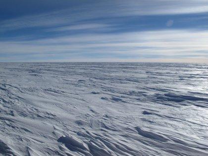 Medidas por primera vez temperaturas de -98 grados en la Antártida