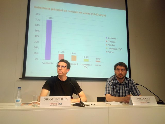 Oriol Esculies y Jordi Feu