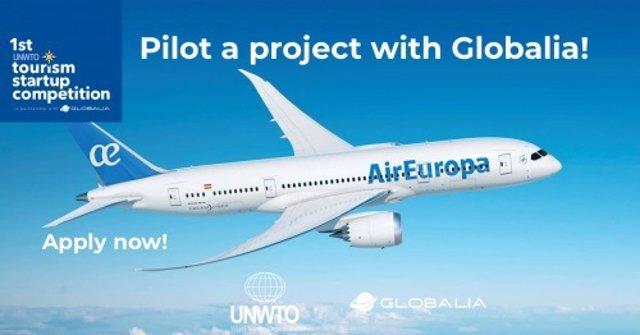 Globalia y la OMT presentan una convocatoria  para startups turísticas