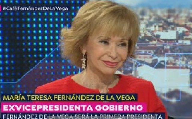 Exvicepresidenta Del Gobierno María Teresa Fernández De La Vega