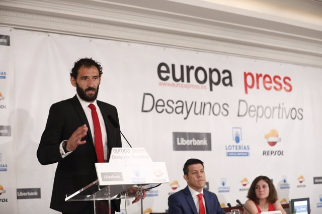 Desayuno Deportivo de Europa Press con Jorge Garbajosa