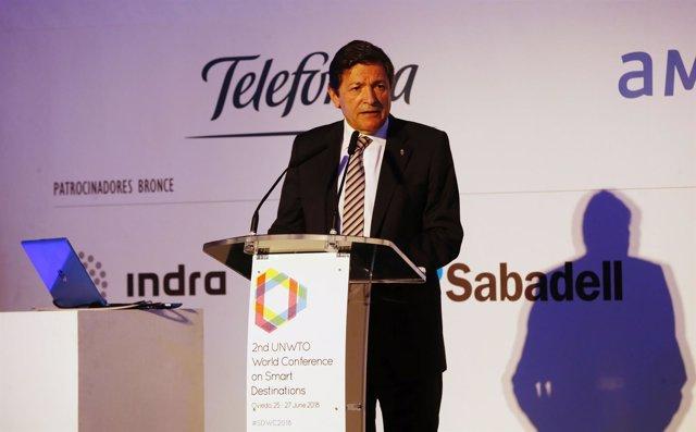 El presidente del Principado de Asturias Javier Fernández