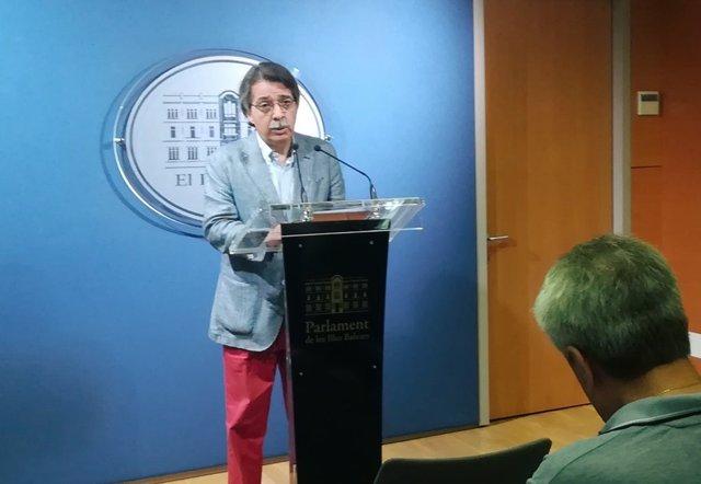 El líder de Cs en Baleares, Xavier Pericay