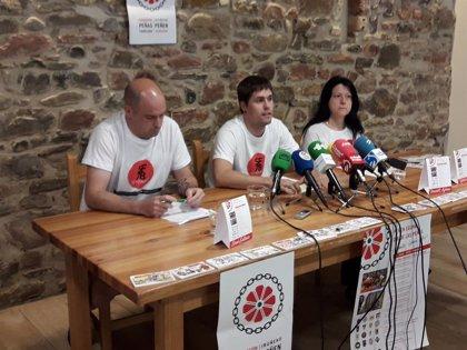 El plan de amabilización, el 'procés' catalán y el rechazo a las agresiones sexistas, en las pancartas de San Fermín