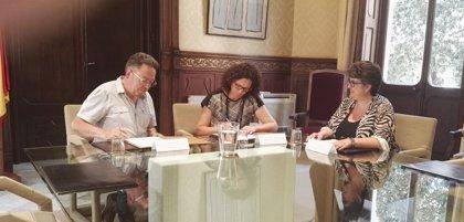 La ATIB renueva el convenio para gestionar las sanciones de tráfico y seguridad vial en Maria de la Salut