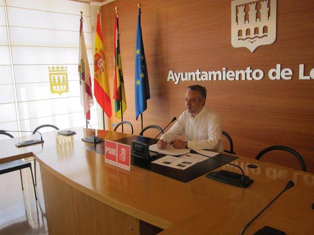 El Concejal Socialista, José Luis Díez Cámara