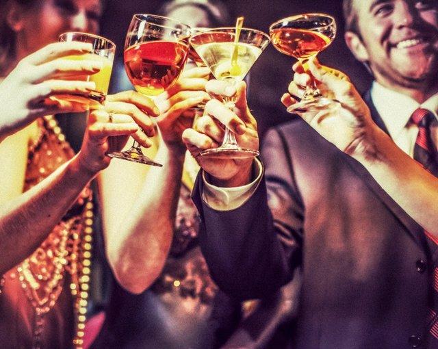 Beber, alcohol, celebrar