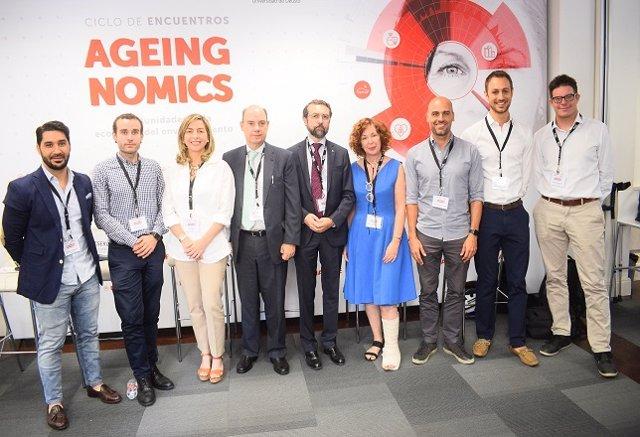 Imagen del Ciclo de Encuentros Ageingnomics de Deusto