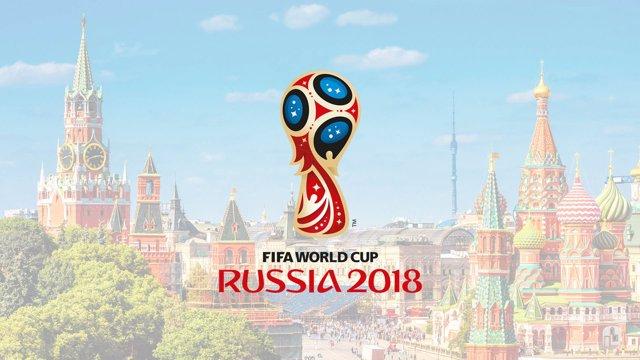 Imagen promocional de la Copa del mundo 2018, en Rusia