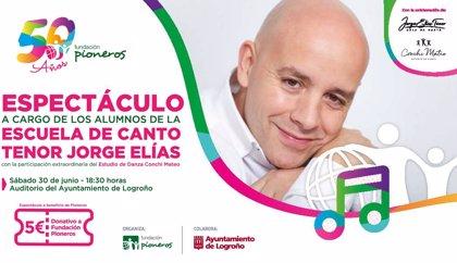 Jorge Elías y Conchi Mateo cantan y bailan a ritmo de Pioneros