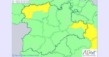 Previsión de tormentas acompañadas de granizo este martes en León y Valladolid