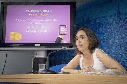 Los Presupuestos Participativos del Ayuntamiento de Toledo reciben 8.500 votos