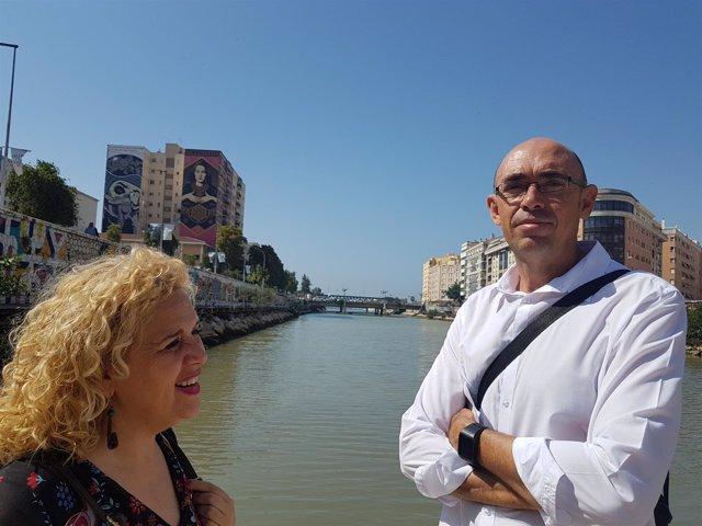 """Iu Mpg Exige Responsabilidades Por """"La Chapuza"""" De Las Obras Del Guadalmedina"""