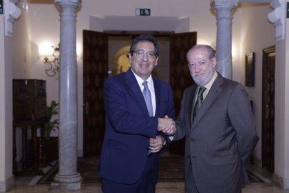 Diputación de Sevilla y Fundación Cajasol impulsan la contratación de 74 titulados y formación para 200 personas