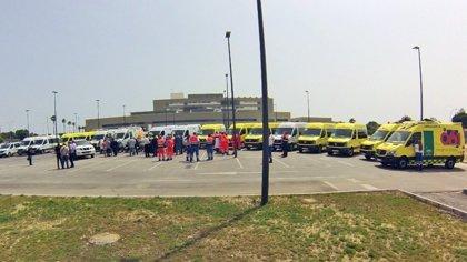 Equipo de emergencias 061 Campo de Gibraltar cumple su primera semana en la nueva base del hospital de La Línea (Cádiz)