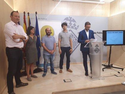 Cort destinará 450.000 euros a la remodelación de la plaza de Sant Jordi