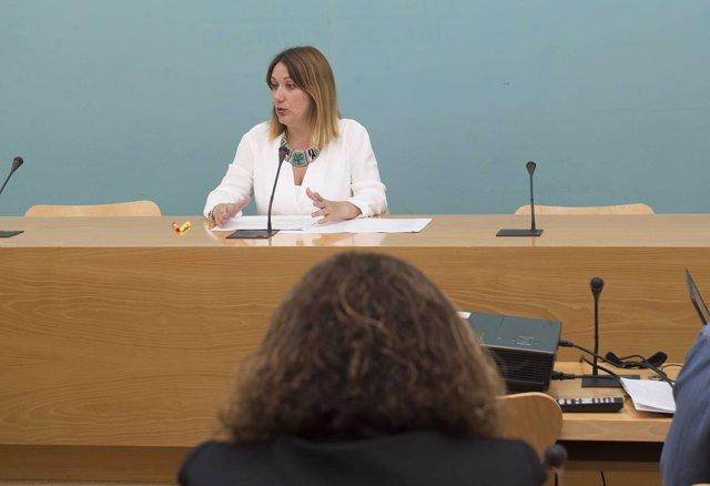 La diputada provincial Isabel Armario