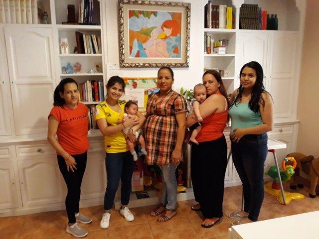 Hogar mujeres embarazadas Cáritas