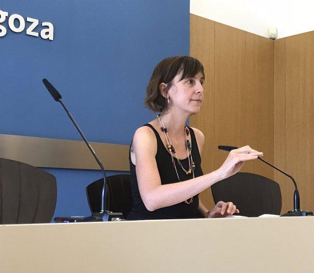 La concejal de Movilidad y Medio Ambiente de Zaragoza, Teresa Artigas