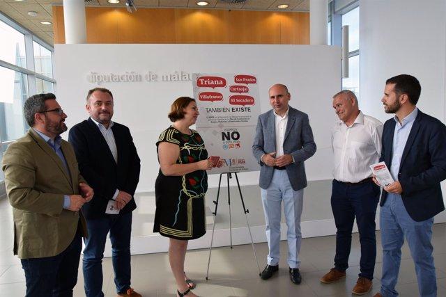 PSOE de Diputación presenta la campaña de apoyo a los diseminados