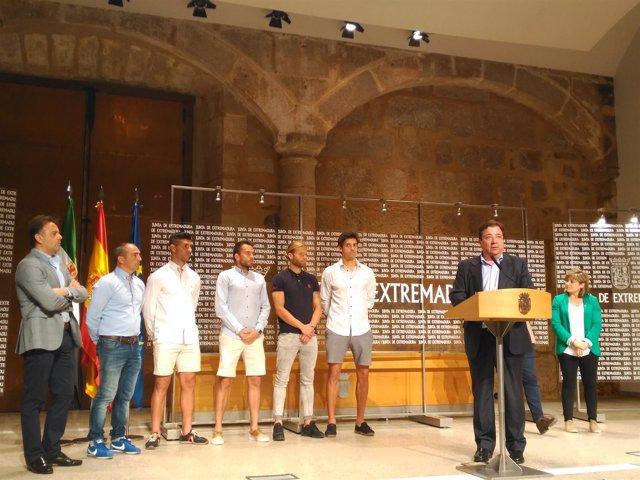 Vara recibe al Extremadura UD