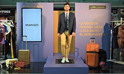 El Aeropuerto de Barcelona-El Prat instala una pasarela para celebrar la semana de la moda