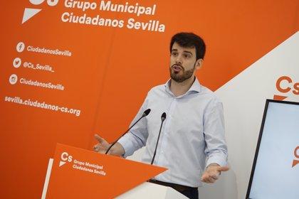 """Cs ve """"vergonzosa"""" la ejecución presupuestaria del Ayuntamiento de Sevilla, que """"no llega al 30%"""""""