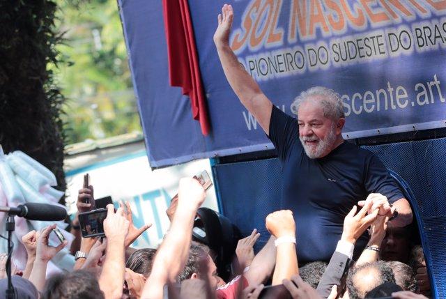 El expresidente brasileño, Luiz Luiz Inácio Lula da Silva