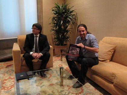 Iglesias también quiere visitar a Junqueras en la cárcel y no descarta reunirse con Puigdemont, aunque lo ve más difícil