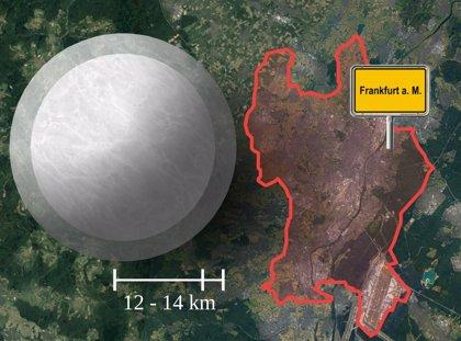 Físicos afinan límites al tamaño de una estrella de neutrones