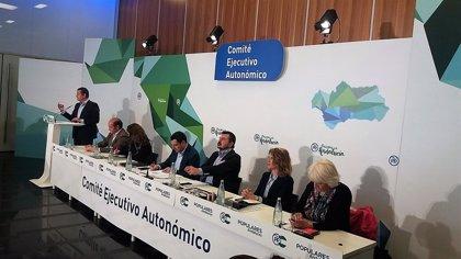 Un total de 12.119 afiliados del PP de Andalucía se inscriben para votar en las primarias
