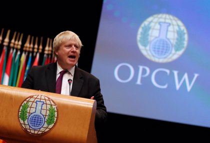 Reino Unido aboga por aumentar los poderes de la Organización para la Prohibición de las Armas Químicas