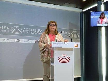"""Cs entiende que Vara """"huye de la realidad"""" y del """"presente"""" de Extremadura sin aplicar """"ninguna solución"""""""