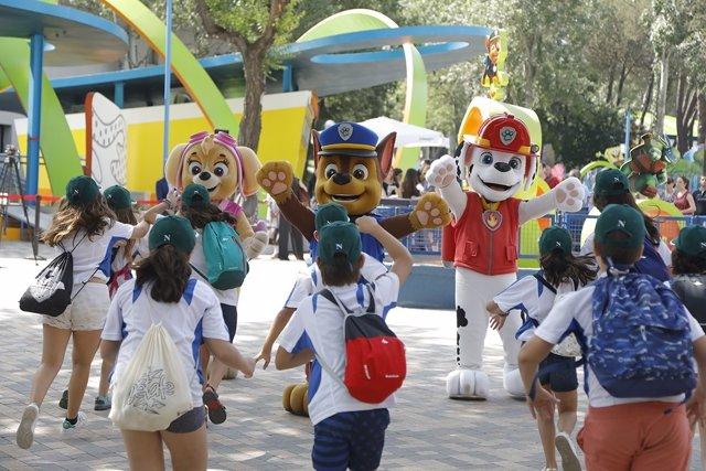 El Parque de Atracciones amplía Nickelodeon Land