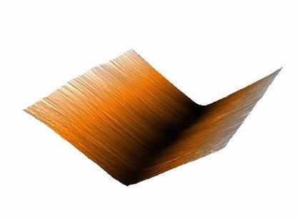 Otra cualidad del grafeno: forma arrugas cargadas eléctricamente