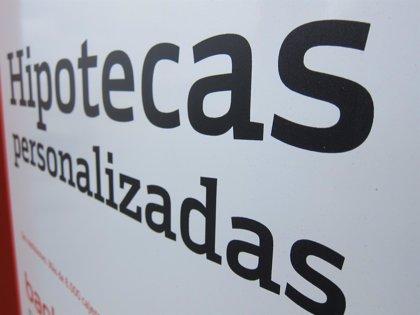 Cantabria, donde menos crece la firma de hipotecas en abril