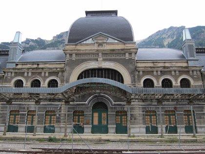 Canfranc vive un día histórico con el inicio de las obras en la Estación Internacional