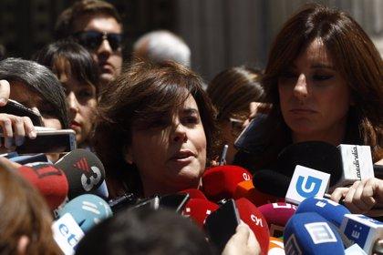 Santamaría no comenta el censo 'inflado' del PP y recuerda que son Cospedal y Casado quienes estaban en Génova