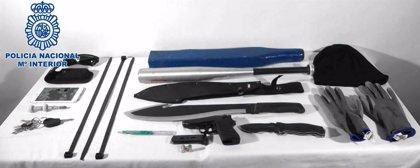 Detenido por entrar en una vivienda de Lanzarote con una pistola detonadora y apuntar a los dueños