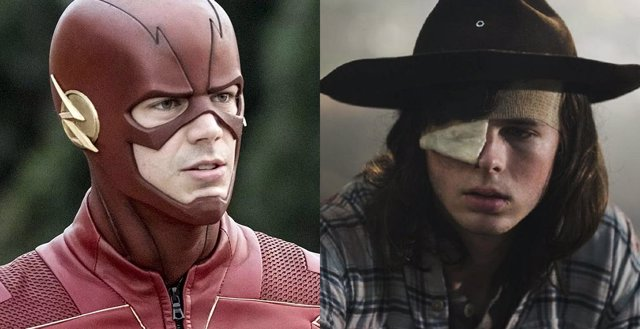 The Flash y The Walking Dead