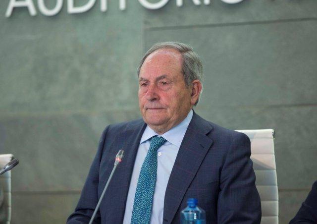 El presidente de Ence, Juan Luis Arregui