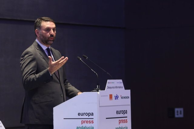 El consejero de Turismo, en los Desayunos de Europa Press Andalucía