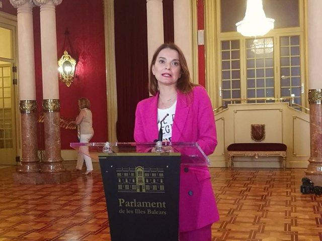 Margalida Prohens, Parlament