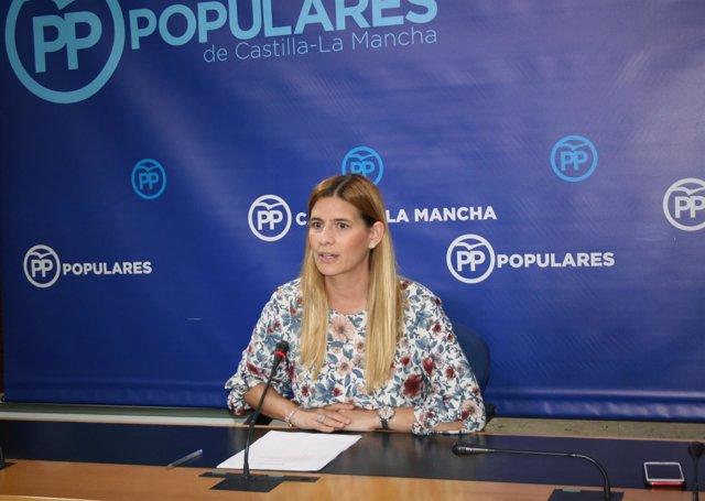 Gpp Clm (Cortes De Voz Y Fotografía) Rueda De Prensa De Carolina Agudo