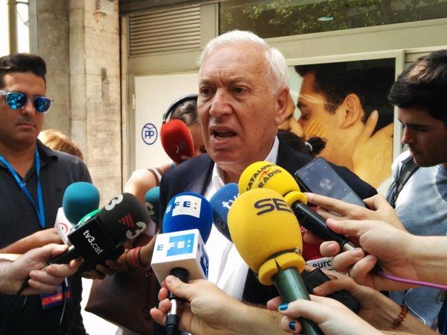 El exministro y candidato a presidir el PP José Manuel García-Margallo