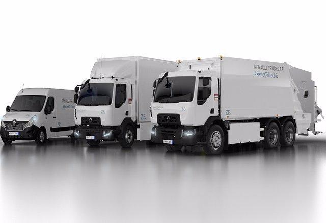 Nueva gama de vehículos eléctricos de Renault Trucks