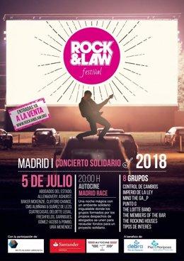 VIII festival benéfico 'Rock & Law'