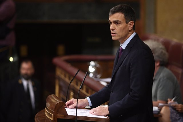 Pedro Sánchez comparece en el Congreso para informar del Consejo