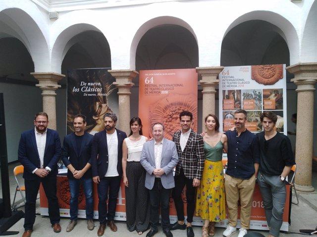 Presentación Electra  Festival de Teatro Clasico de Merida