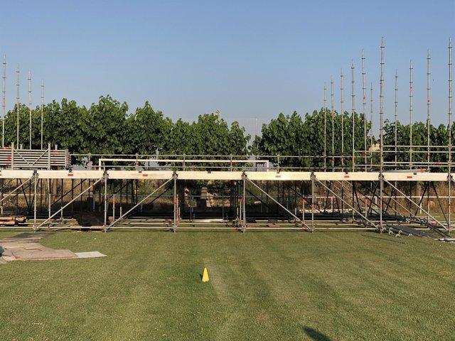Preparativos del festival homenaje a Springsteen